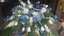 Dallas Cowboy  Casket Cover