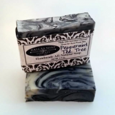 Dallas Soap Company Peppermint Tea Charcoal Soap