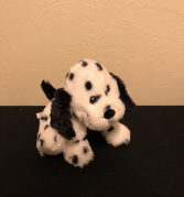 Dalmation Stuffed Plush with Rattle