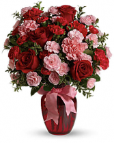 Dance with Me Bouquet with Red Roses Valentine's Day / All Occasion