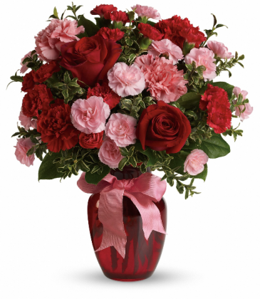 Dance with Me Valentine bouquet