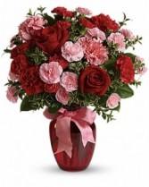 Dance with me vase arrangment