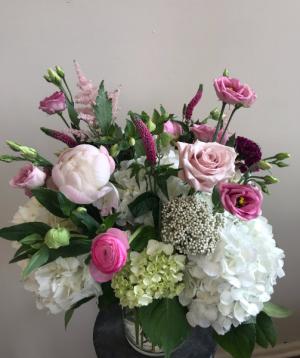 Dancing Beauty Vase Arrangement in Northport, NY | Hengstenberg's Florist