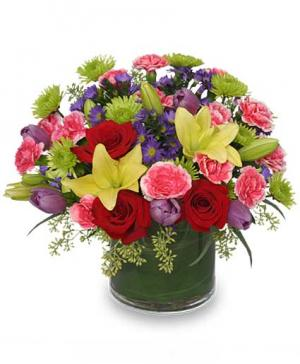 DANCING BLOSSOMS Floral Arrangement in Richland, WA | ARLENE'S FLOWERS AND GIFTS