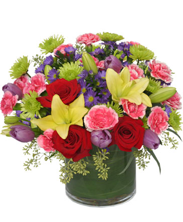 DANCING BLOSSOMS Floral Arrangement