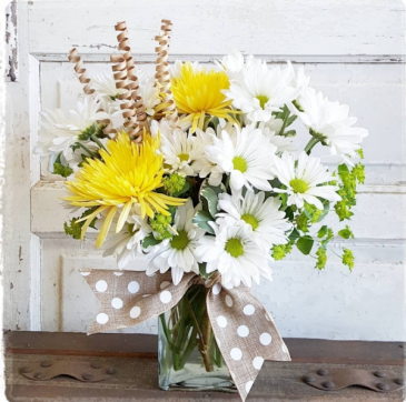 Dancing Daisies  Vase Arrangement