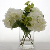 Dancing Hydrangeas Vase