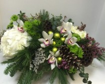 Dancing Orchids centerpiece