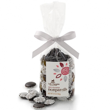 Dark Chocolate Nonpareils - Organic Lake Champlain