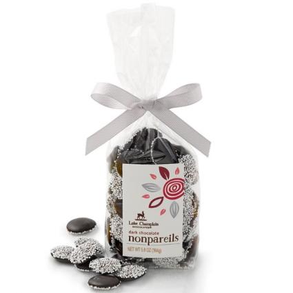 Dark Chocolate Nonpareils - Organic Lake Champlain