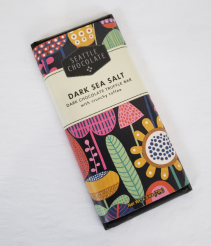 Dark Sea Salt Seattle Chocolates Bar