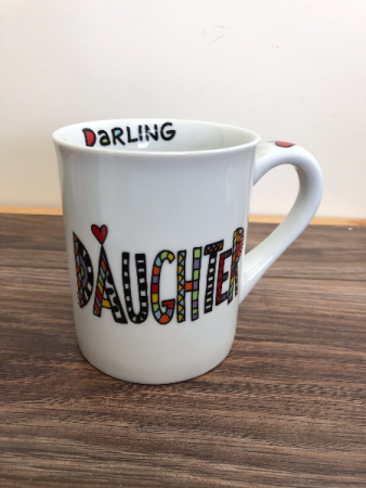 Darling daughter mug Mug