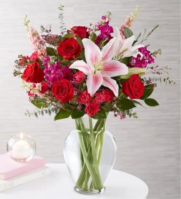 Darling I Do Vase Arrangement