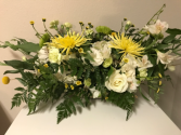 Dash of Yellow Sympathy Flowers