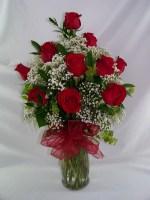 Dashing Dozen Vase Arrangement