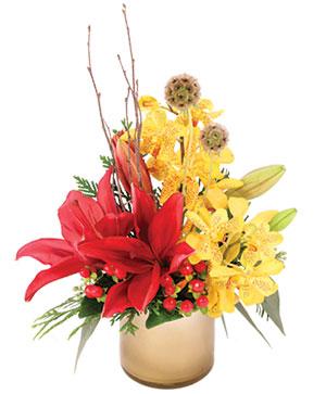 Dashing Lilies Floral Arrangement in Westlake, TX | Westlake Florist
