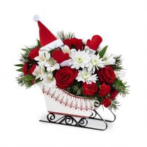 Dashing Through the Snow Bouquet Christmas Arrangement