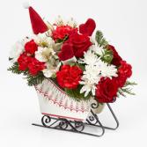Dashing Through the Snow Bouquet Floral Arrangement