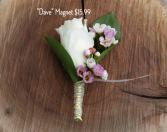Dave Magnet Boutonniere
