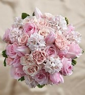 DAWN ROSE BOUQUET WEDDING