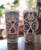 Day of the Dead (each) Tumblers by Cupple Designs