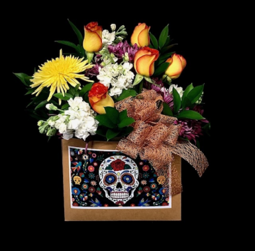 Day Of The Dead Mixed Floral