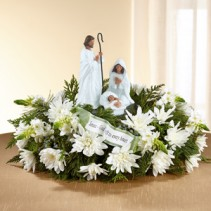 Day Spring God's Gift of Love Centerpiece Holiday Floral Arrangement