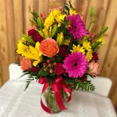 Tequila Sunrise Bouquet