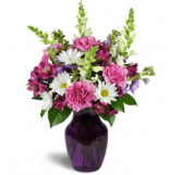 Daydreaming in Lavender  Vase arrangement