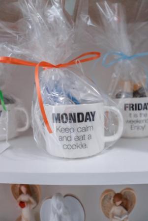 Days of the Week Mug Gift Item