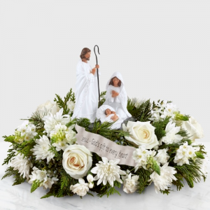 DAYSPRING GOD'S GIFT CENTERPIECE in Peoria Heights, IL | The Flower Box