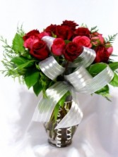 ROSES - DAZZELING HOT ROSES - I Love You Roses Premium Red & Hot Pink Roses, Add Chocolates, Teddy Bears & Gifts