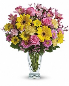 Dazzingly Day Bouquet T21-1A  in Merced, CA | TIOGA FLORIST INC.