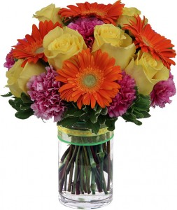 DAZZLE Vase Arrangement in Port Stanley, ON | FLOWERS BY ROSITA