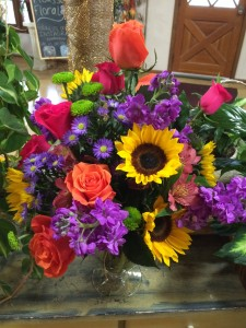 Dazzling Blooms Vase in Indian Trail, NC | PICASSO FLORAL