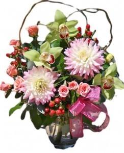 Dazzling Dahlias Fresh Flowers