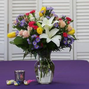 Dazzling Delicate Collection Vase Arrangement