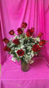 Dazzling Dozen Dozen Long Stem Roses