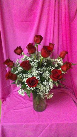 R12V Dazzling Dozen Dozen Long Stem Roses