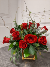 Dazzling Dozen Red Roses LOCAL DELIVERY ONLY