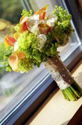 Dazzling Handtied Wedding Bouquet