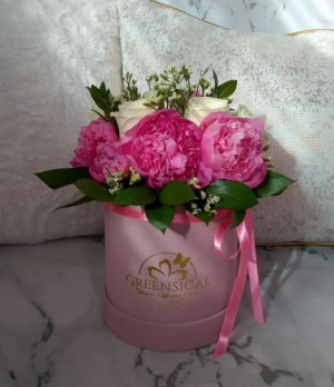 Dazzling Peonies  in Delray Beach, FL | Greensical Flowers Gifts & Decor