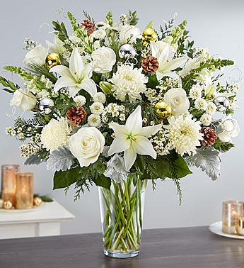 Dazzling Winter Wonderland Arrangement