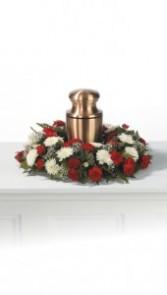 "DCW2511 12"" Cremation Urn Wreath"