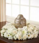 "DCW332 12"" Cremation Urn Wreath"