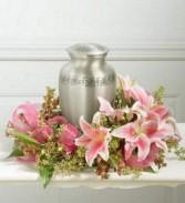 "DCW342 12"" Cremation Urn Wreath"