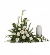DCW351 Calla Lily Memorial Arrangement