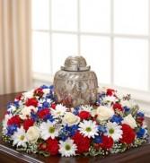 "DCW592 12"" Cremation Urn Wreath"