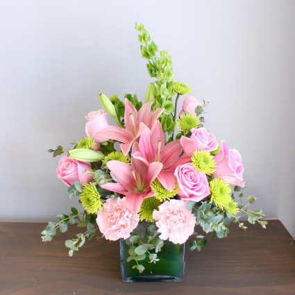 IN PINKS AND GREENS ***LOCAL DELIVERY ONLY***