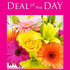 Deal of The Day Any Flowers Any Design